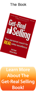 Get-Real Selling Book by Keith Hawk and Michael Boland